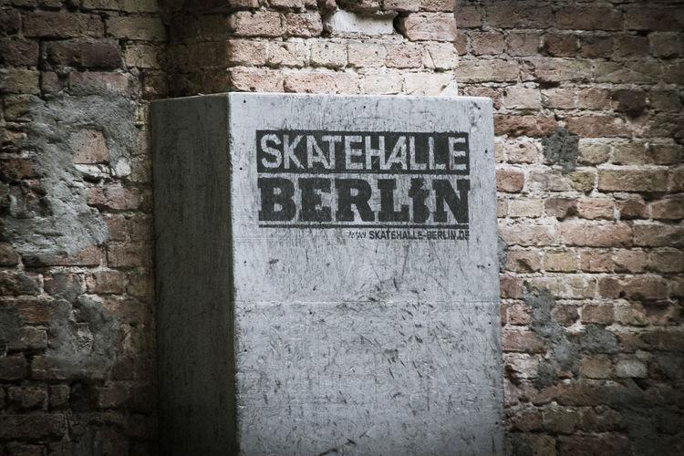 Brick Wall Text