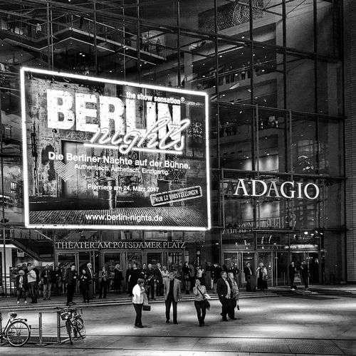 Berlin Black And White Blackandwhite Photography Streetphotography Berlinnight Adagio