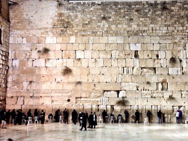 Jerusalem Israel Jewish Wailingwall