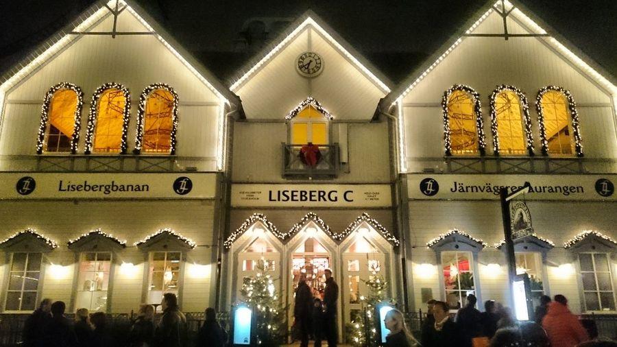 Christmas Market Goteborg Gothenburg Mercatino Di Natale Scandinavia Svezia Sweden Town Winter