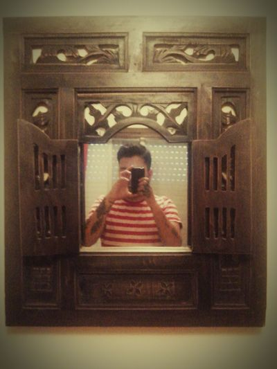 Mirrorselfie Selfieoftheday Mirror Rustic Style
