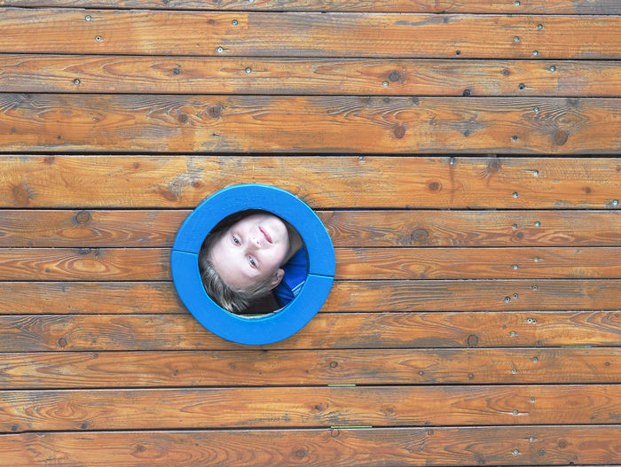 childhood Boy Cheeky Child Childhood Funny Hide And Seek Hiding Kid Playground Porthole Young