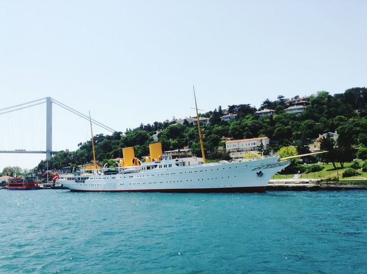 Savarona yat Hi! Enjoying Life Cheese! Hello World Istanbul - Bosphorus Istanbul Turkey