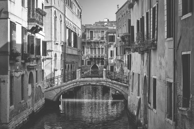 In the streets of Venice Architecture Bridge Canal City City Life Day Gondola Italy Outdoors Sky Travel Destinations Traveling Venice Water