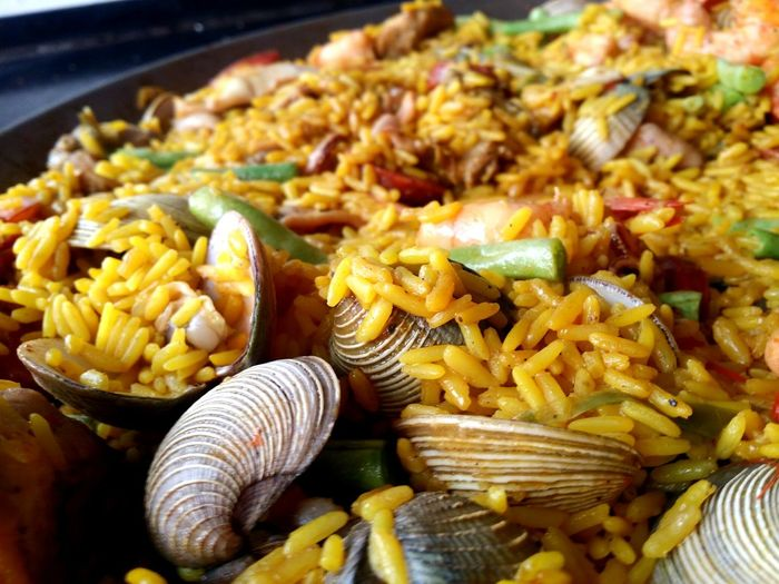 Paella Paellas SPAIN España Mexico Veracruz Rice Paddy Food Foodporn Foodphotography EyeEm Selects Close-up Food And Drink Rice - Food Staple Shrimp - Seafood Seafood Shrimp Mussel