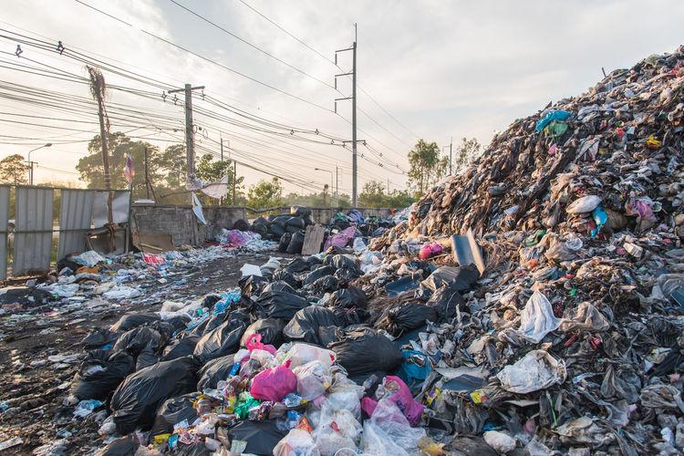 Junkyard in thailand