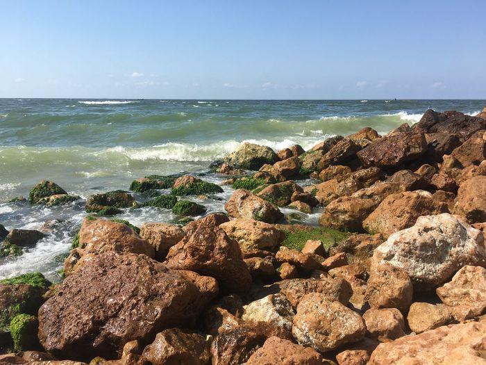 Sea Water Beach Land Beauty In Nature Horizon Over Water Sky