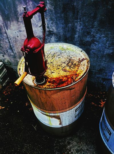 Barrel Pollution Unhygienic Oil Gasoline Sludge Grime Gross Trash Scum Industrial Chemical Food And Drink Still Life Close-up Freshness Unhygienic Temptation No People Unhealthy Eating Indulgence Non-alcoholic Beverage