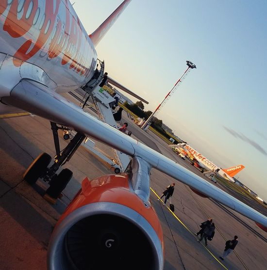 Low Angle View Day Air Vehicle No People Sky Outdoors Airplane Flight ✈ Flight Wings Fliegen EasyJet