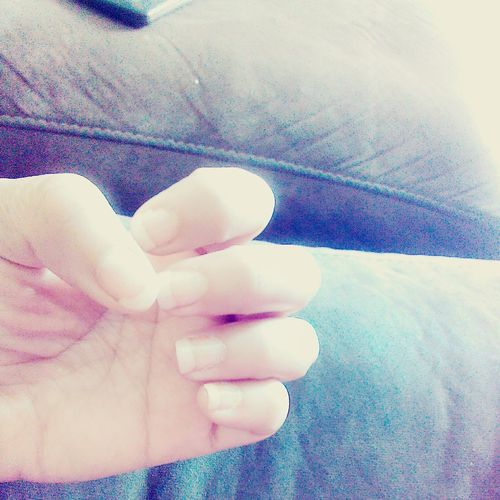 Mi nuevo French Manicure Me Gusta :) Mi Manita