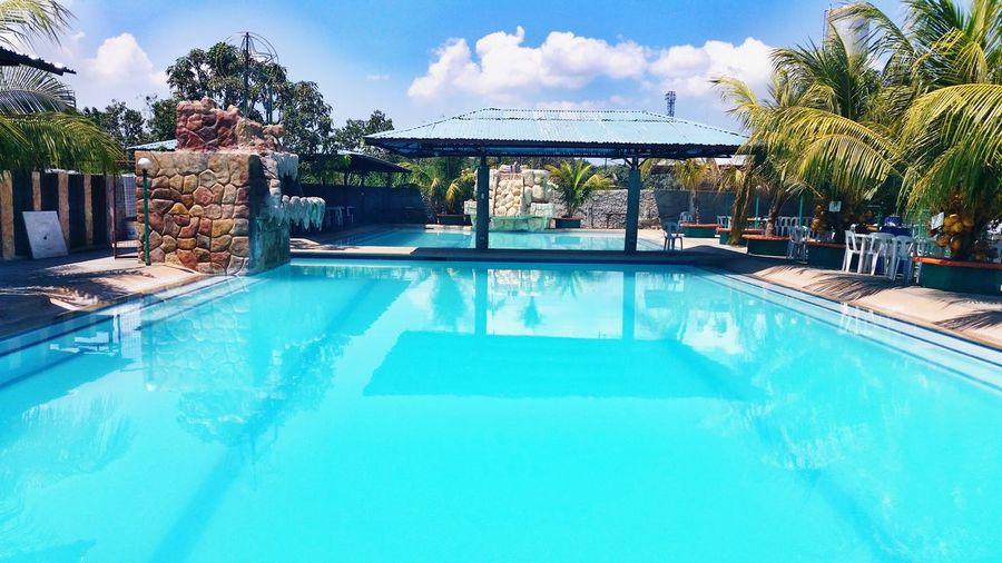 Cebu Wetland Resort. LetsGetWet Pool Day  Swimming Time Lets Go Swimming Summer2015