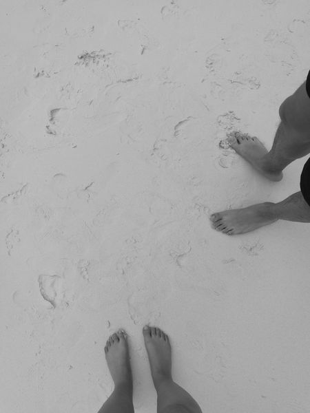 White Sands Human Body Part