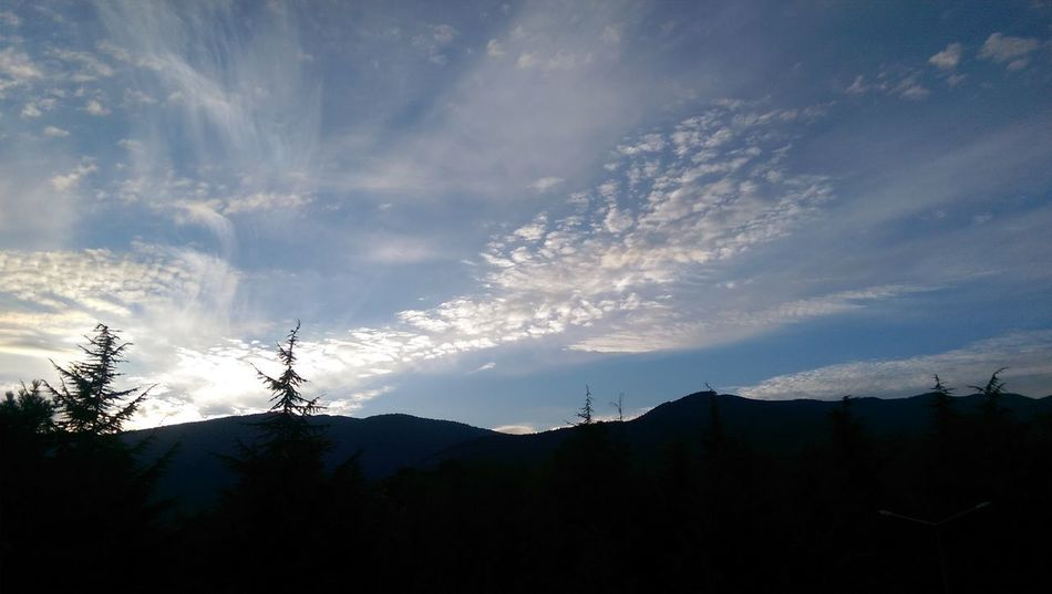 Clouds Sunset Inmytown Mountain Sky Beauty In Nature Cloud Nature Nofilter
