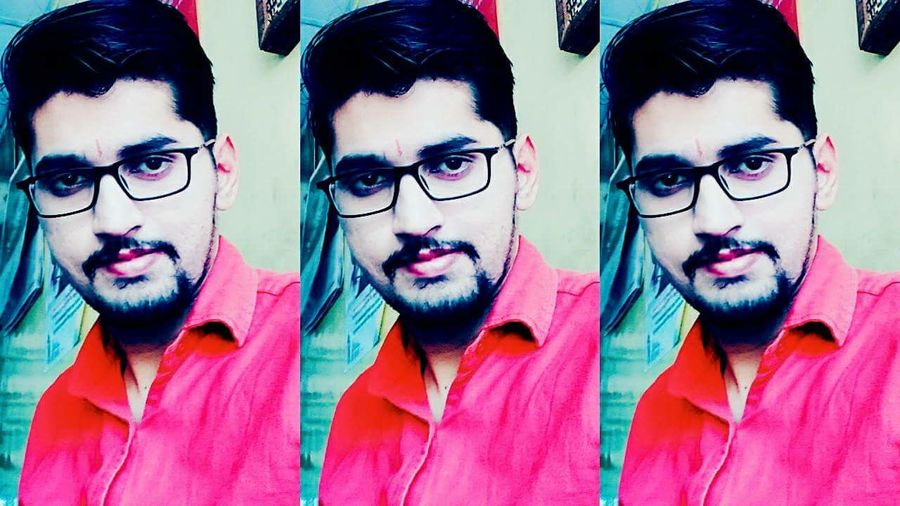 Looking At Camera One Person Eyeglasses  Front View