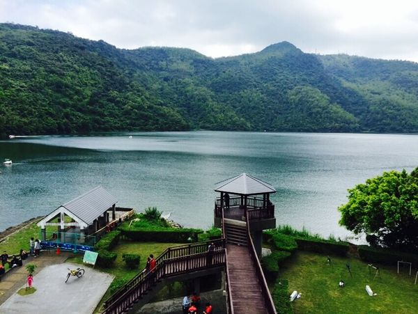 Landscape Clouds And Sky Mountain Liyu Lake Lake Enjoying Life Vocation Relaxing Hualien, Taiwan