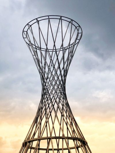 Beacon of Travel Destinations Germany München Pipe Dream Mae West Sky Cloud - Sky Low Angle View No People Sunset Nature Metal Architecture Built Structure