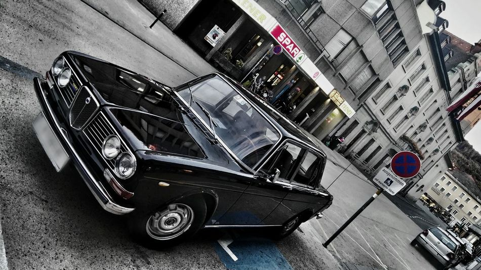 Lancia Fulvia Berlina High Angle View Architecture Built Structure Car Mode Of Transport Steps And Staircases Land Vehicle Day No People Stationary Outdoors Building Exterior