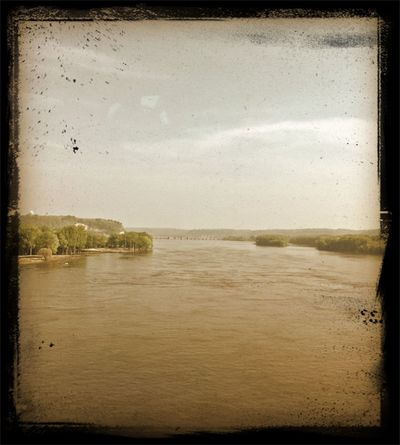 Sepia Old Style Mississippi River BeFunky