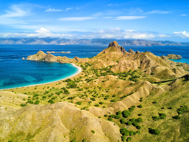 Aerial view of dramatic ridges on Pulau Padar island in between Komodo and Rinca Islands near Labuan Bajo in Indonesia. DJI X Eyeem DJI Mavic Pro Dragon Flores Island INDONESIA National Park Tourist Travel Travel Photography Aerial Aerial Photography Aerial View Destination Dji East Nusa Tenggara Flores Komodo Labuan Bajo Landscape Padar Pulau Rinca Tourism Tropical Vacation