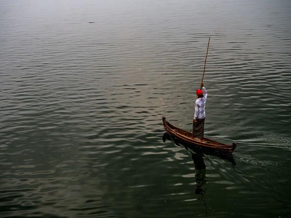 Boat Gondola - Traditional Boat Gondolier Landscape M Mandalay Nautical Vessel Outdoors River Transportation Travel Travel Photography Ubeinbridge