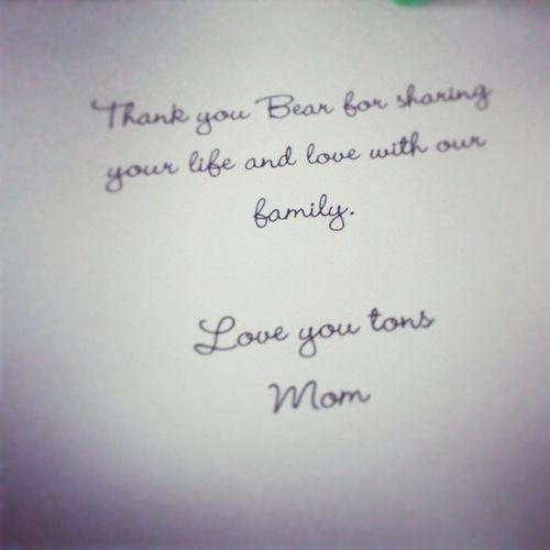 Thanks mamacita! Spoiled Loveher