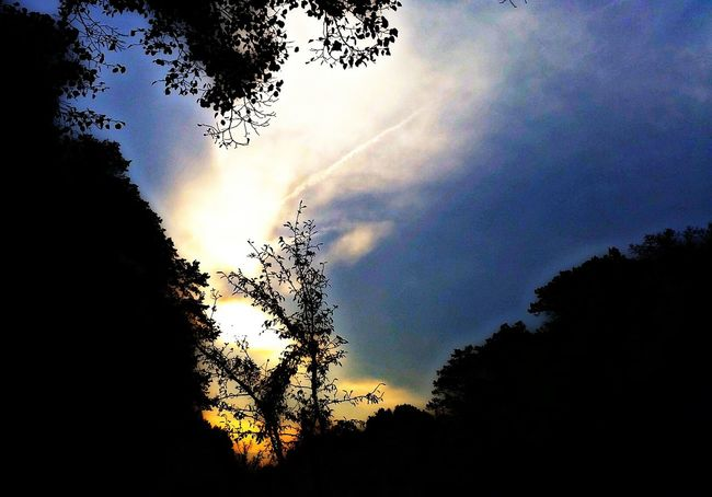 Sunset Taking Photos Walking Around HDR