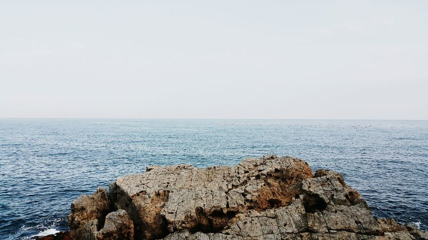 Sea the Sky Sea And Sky Seascape Seaside Sea View Sea_collection Sea Sky Rock Sea Rocks Blue Ocean Ocean View Busan South Korea Eyeemphoto