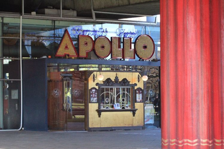 Apollo Theatre No People Store Day Architecture Built Structure Indoors  Düsseldorf, Medienhafen Architecture Low Angle View Scenics Postcode Postcards Gebäude Theater Apollo Düsseldorf
