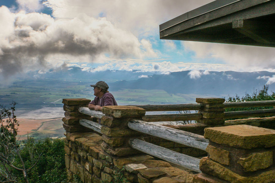 Mancos valley overlook Cloud - Sky Colorado Day Leisure Activity Mesa Verde National Park One Person Outdoors Overlooking Real People Sky Vacation Destination Vacation Time Valley View Woman Live For The Story Serenity Serene Outdoors Peaceful View Tranquil Scene