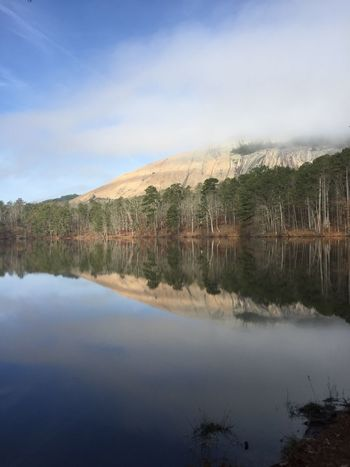 Rocks And Minerals Stone Mountain GA Foggy Morning Giant