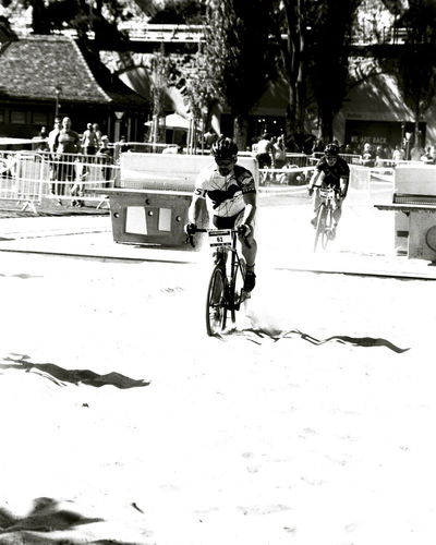 Sand Pit Bicycle Race Analogue Photography Film Photography 35mm Film Bnw_friday_eyeemchallenge Bnw_bike Gry Et L'aventure City Tree Bicycle Land Vehicle Stationary Street City Life City Street Architecture Sky
