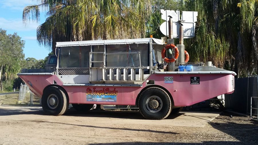 51 days driving around Australia - Day 47 Town of 1770 Amphibious Vehicle Land Vehicle Outdoors Tourist Activity Transportation Travelling Australia