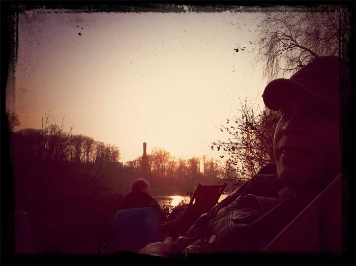 Chilling at Wannsee Chilling