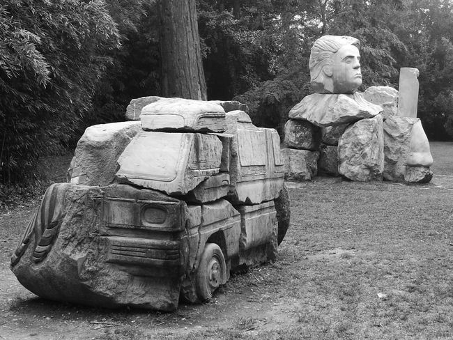 Sculpture Statue Day Outdoors No People