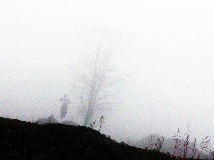 Jumping Mist Motocross Run In The Fog OMG! Where I'm Going?!