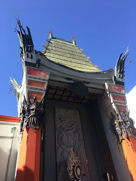 Chinese Theater Architecture Built Structure Sky Building Exterior Low Angle View Building Clear Sky Nature Day Travel Destinations Outdoors Sunlight No People