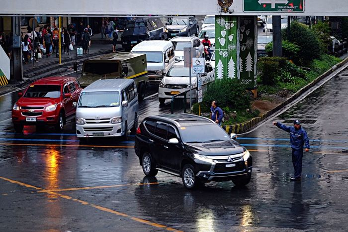 Baguio City, Philippines Eyeem Philippines Traffic Enforcer Car Mode Of Transport Street Land Vehicle Real People Outdoors One Person People Day Adult