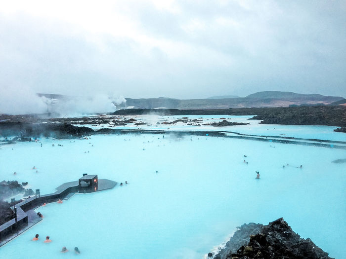 Hot Spring Blue Lagoon Siteseeing Nature Icelandairwaves Olympus Travel Iceland Reykjavik Winter
