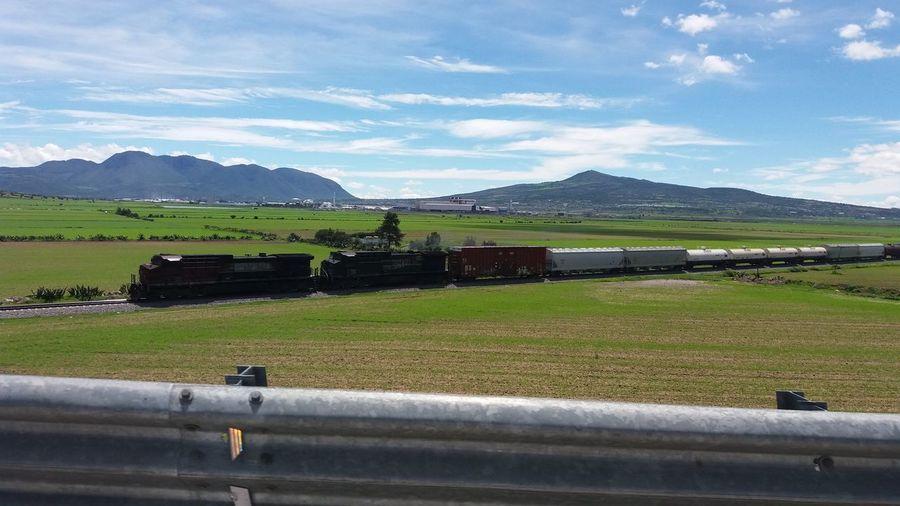 Train Train Tracks Road The Beast Iton Wheels Cargo Train