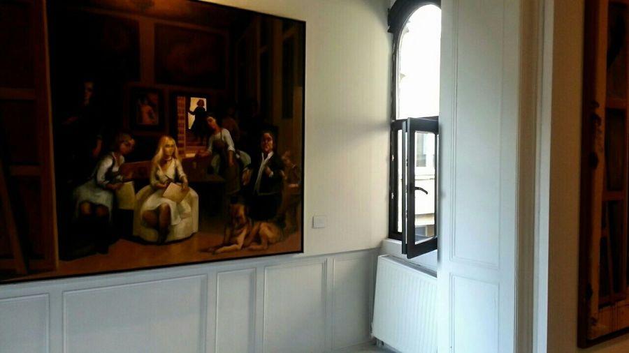 Art Exibition Art & Design Gallery Piece Painting Lasmeninas Work