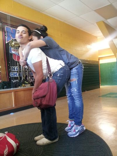 After school today with the gayboy (:
