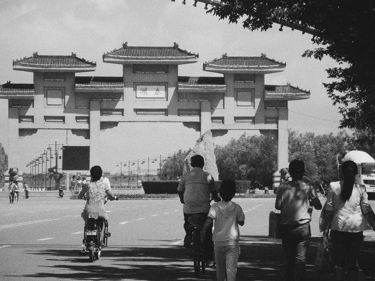 Taking Photos Minimalism Blankandwhite Picture China Hometown