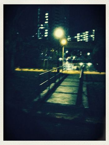 Dark bridge Bridges Night Lights