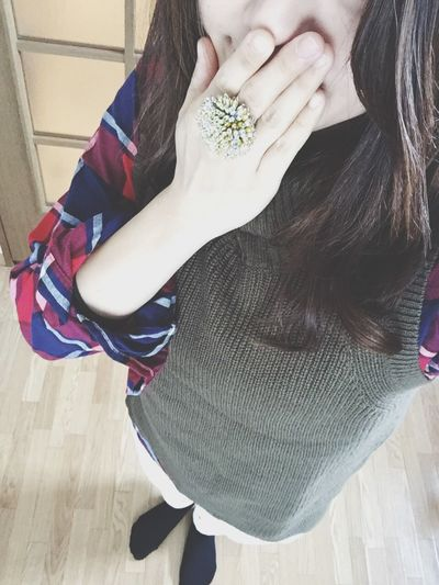 暖冬 Code Outfit Fashion ThatsMe Babylone Uniqlo Mystyle Winter Autumn Denim