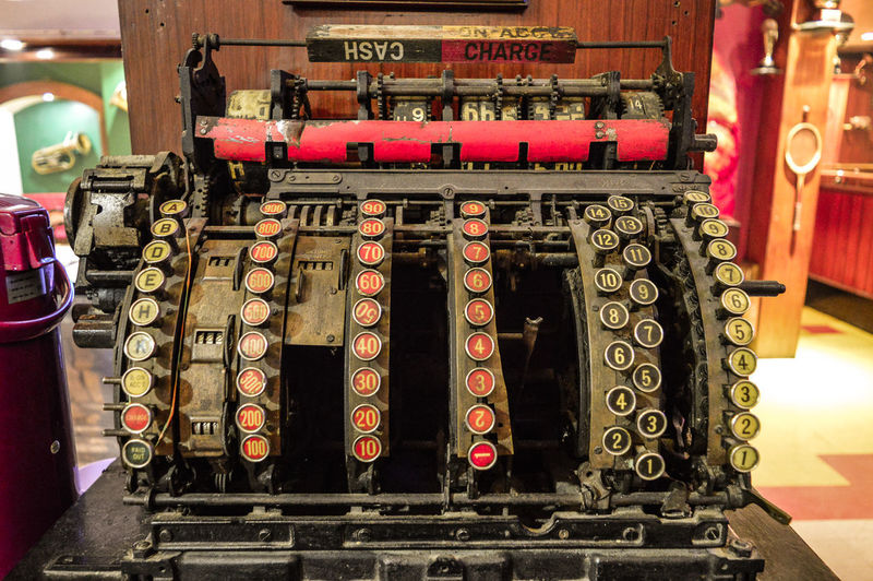 Antique cash Register, The Buzz, Darjeeling Indoors  Text No People Arts Culture And Entertainment Business Finance And Industry Day Close-up