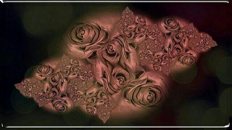 Abstract Rosé Des Fleurs