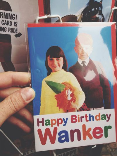 Card WTF Funny Stuff At Camden Market