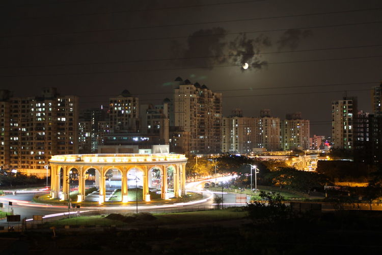 Beautiful City (Utsav Chowak) Architecture Beautiful Night Beautiful Night Of City Big Moon Building Exterior Business Finance And Industry City City Life Golden Neckles Kharghar Khargharstation Long Exposure Long Exposure Night Photography Moon Mumbai Navi Mumbai Night Nightphotography No People Outdoors Sky Twilight UtsavChowk