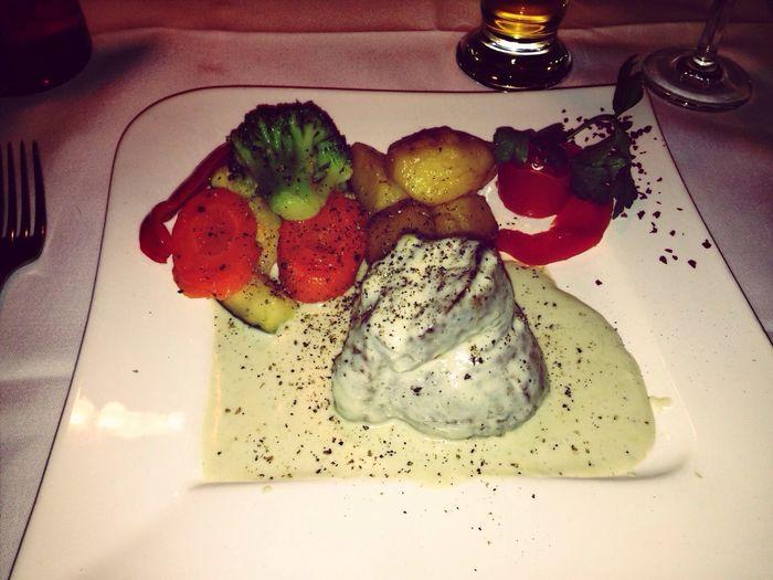 Steak In Gorgonzolasauce