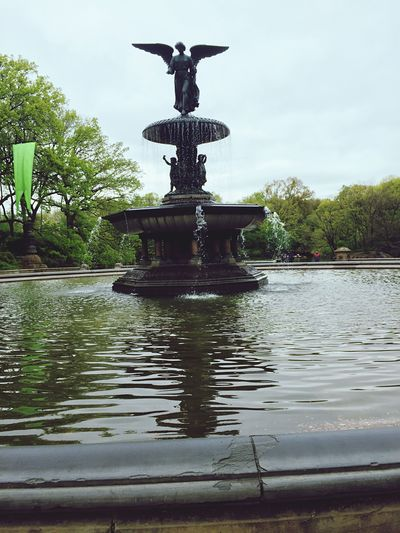 Central Park - NYC Fountain The Great Outdoors With Adobe Bethesda Terrace The Street Photographer - 2016 EyeEm Awards